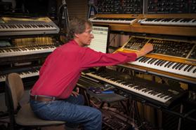 Jim Oliver in his studio